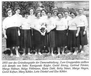Damenabteilung
